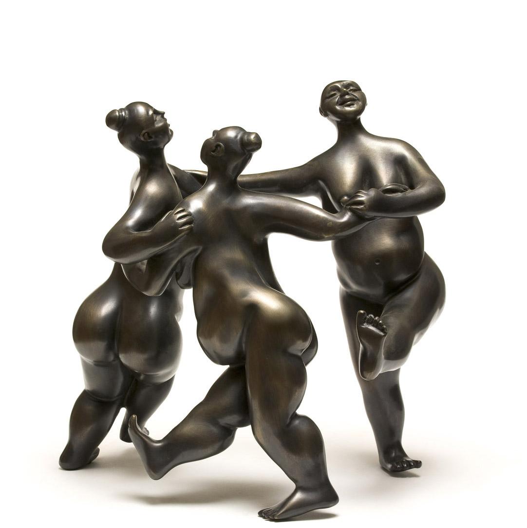פסל ברונזה | רות גולן הנל | חדווה